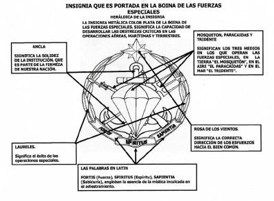 FES (Fortis, Spiritus, Sapientia) Fuerzas Especiales de la